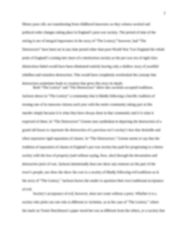 Thesis about global warming