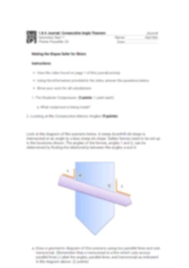 1.8.4 journal.docx - That it is possible to measure the ...