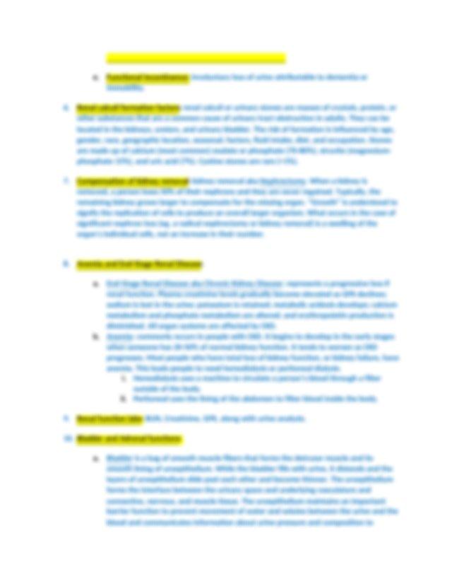Pathophysiology Exam 3 Study Guide.docx - Pathophysiology ...