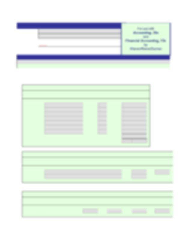 05-1B Accounting.xls - Problem 5-1B Name Section Briaunna ...