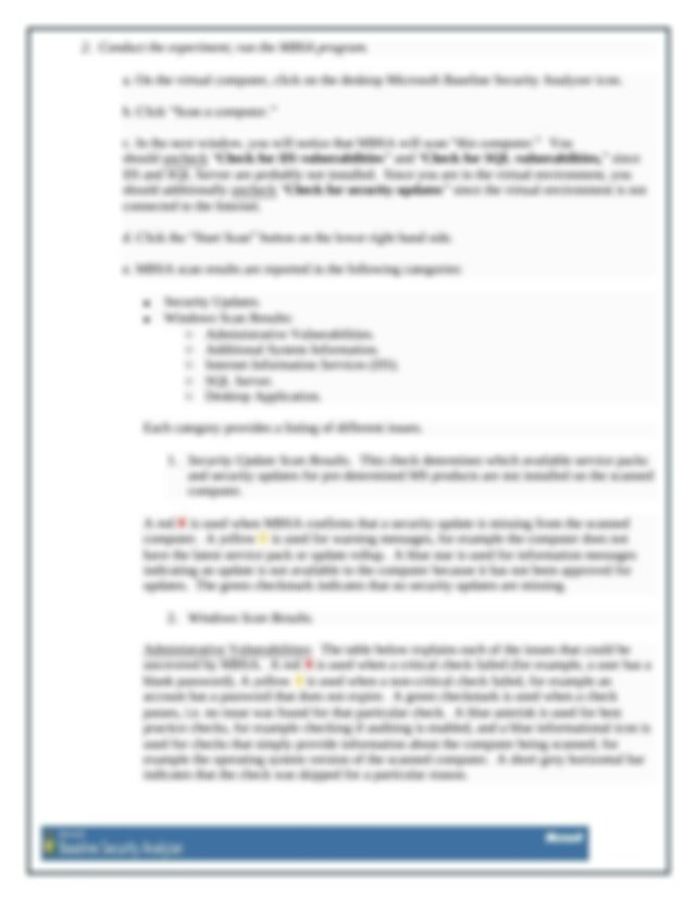 CSEC 630 Lab Assignment 1 Introduction To