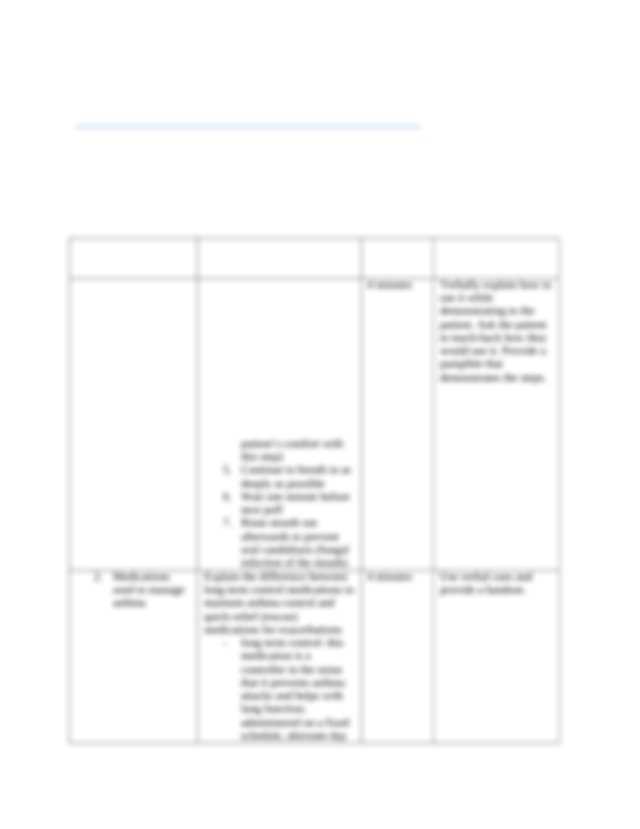 Asthma teaching plan.docx - Use this resource to develop ...