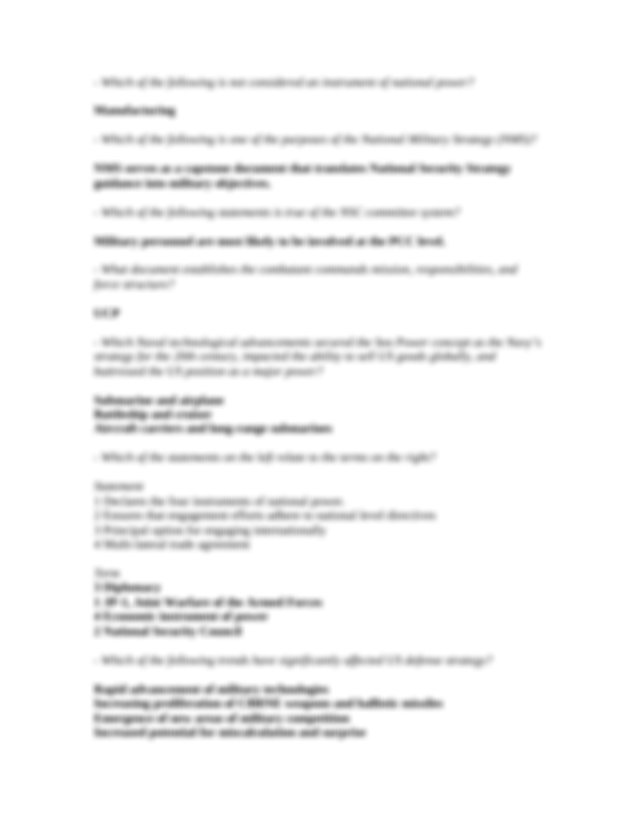 SNCO JPME Modules 1-11 Post Test Answers.doc - Where can ...