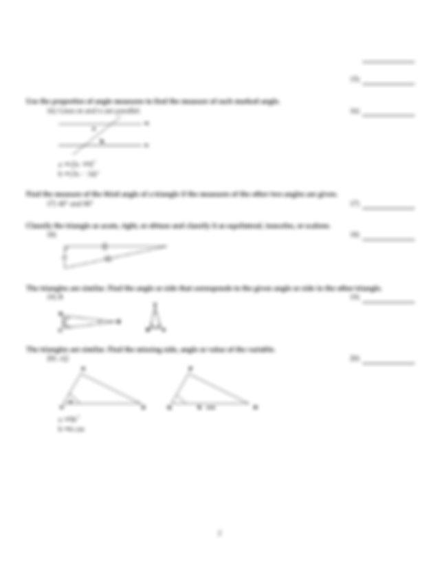 Trig exam.pdf - MATH 1316 Test 2Review sheet SHORT ANSWER ...