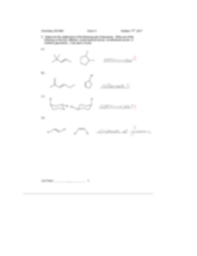 Orgo Exam 2 .docx - 9999 CHEM 333 Fall 201 MW Exam 2 ...