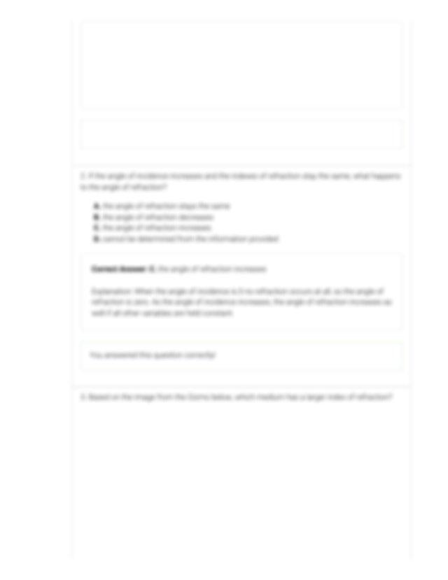 Refraction Gizmo _ ExploreLearning.pdf - Refraction Gizmo ...