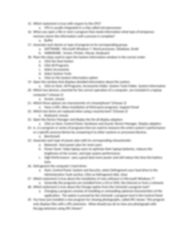 comp fun answer key.docx - COMPUTING FUNDAMENTALS GMETRIX ...