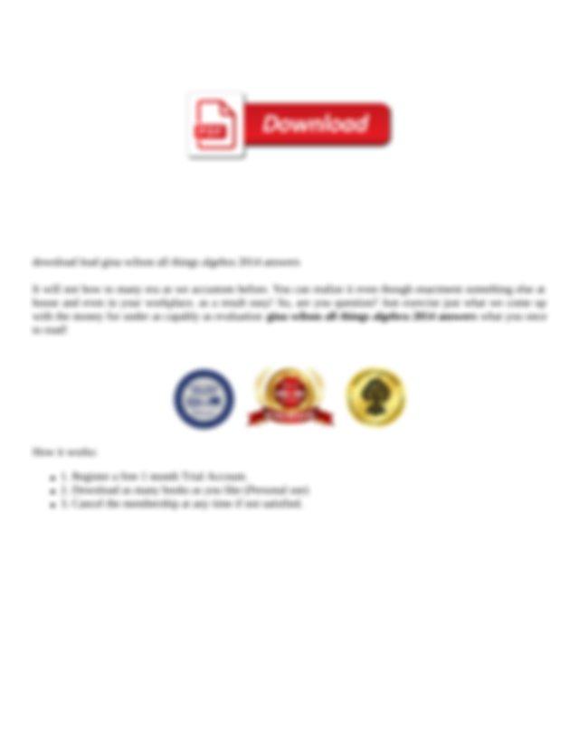 Gina Wilson All Things Algebra 2014 Answers.pdf - Gina ...
