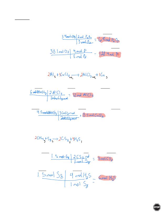 Stoichiometry Calculations .pdf   Name Date Period POGIL ...