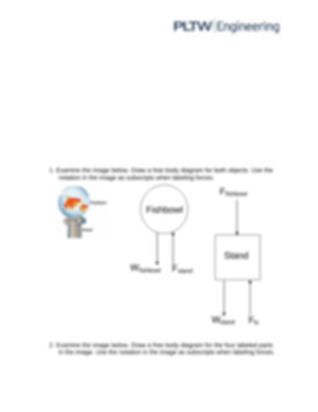 Poe Free Body Diagram Solutions Pdf