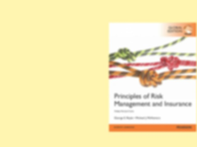 RMI02 - Chapter 2 The Insurance Mechanism Agenda ...