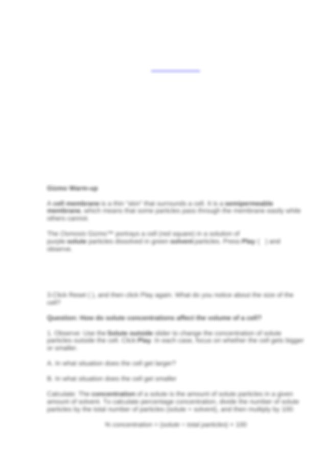 Student Exploration- Osmosis (solution).docx - Student ...