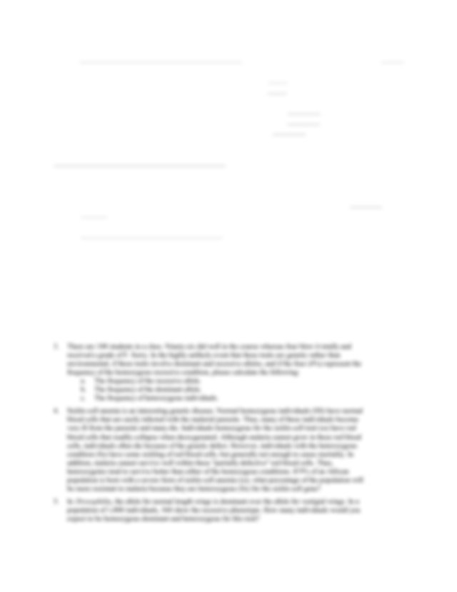 Hardy-Weinberg Problem Set.pdf - Hardy-Weinberg Problems ...