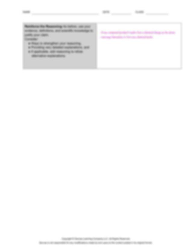 NAME DATE CLASS Copyright Savvas Learning Company LLC All ...