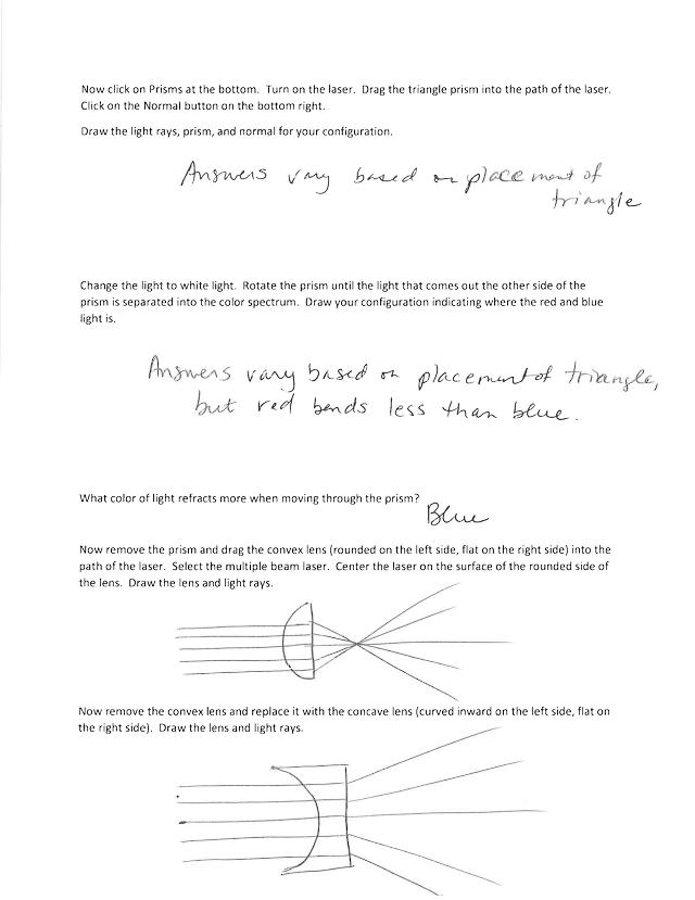 Ch 28 Bending Light PhET Lab- Answer Key (1).pdf ...