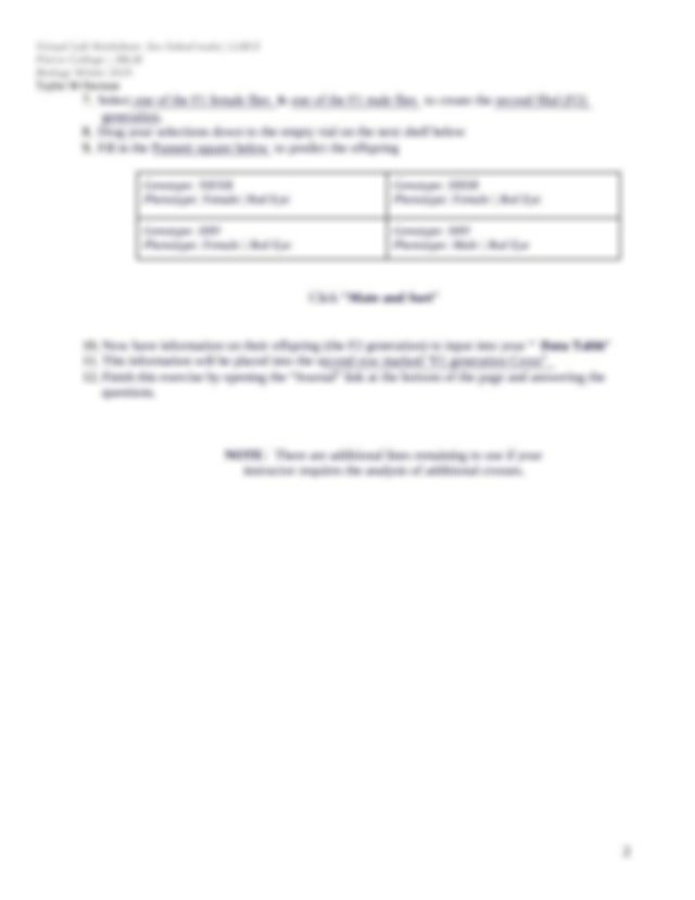 Copy of Virtual Lab Worksheet_ Sex linked traits _ LAB E ...
