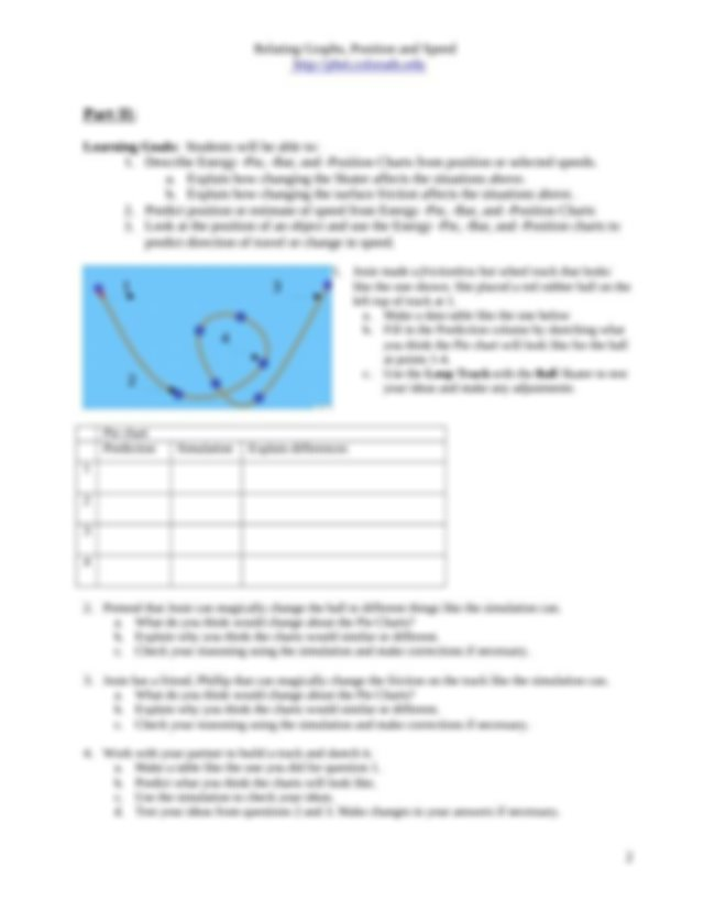 Virtual Lab - Energy Skate Park Simulation - (Phys 11-12 ...