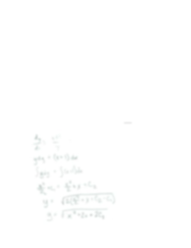 Find The Particular solution Of F x 4 2 5x For y 2 When x