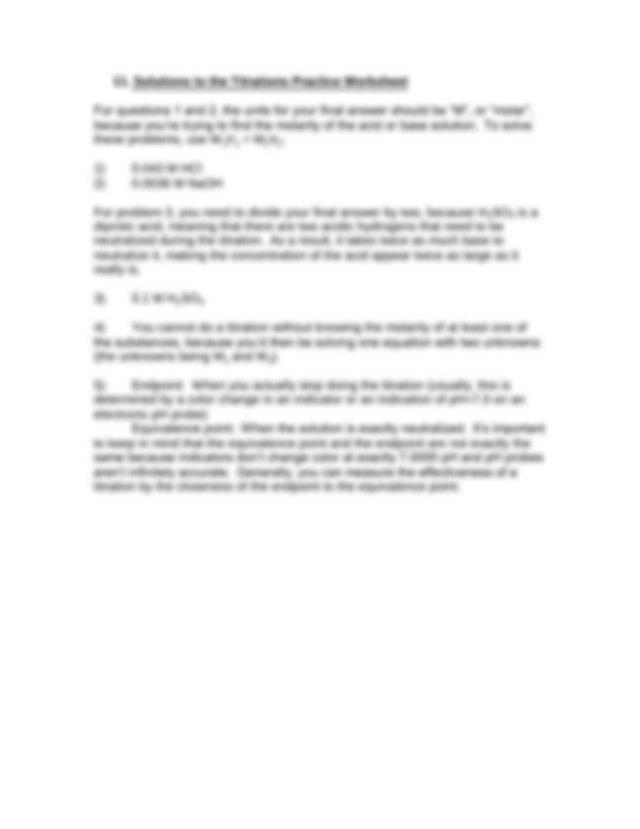 Titration-Worksheet.pdf - Neutralization Worksheet#1 CH40S ...