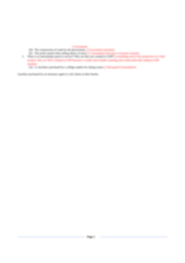 Unit 2 Test Review Sheet--Answer Key - AP Macroeconomics ...