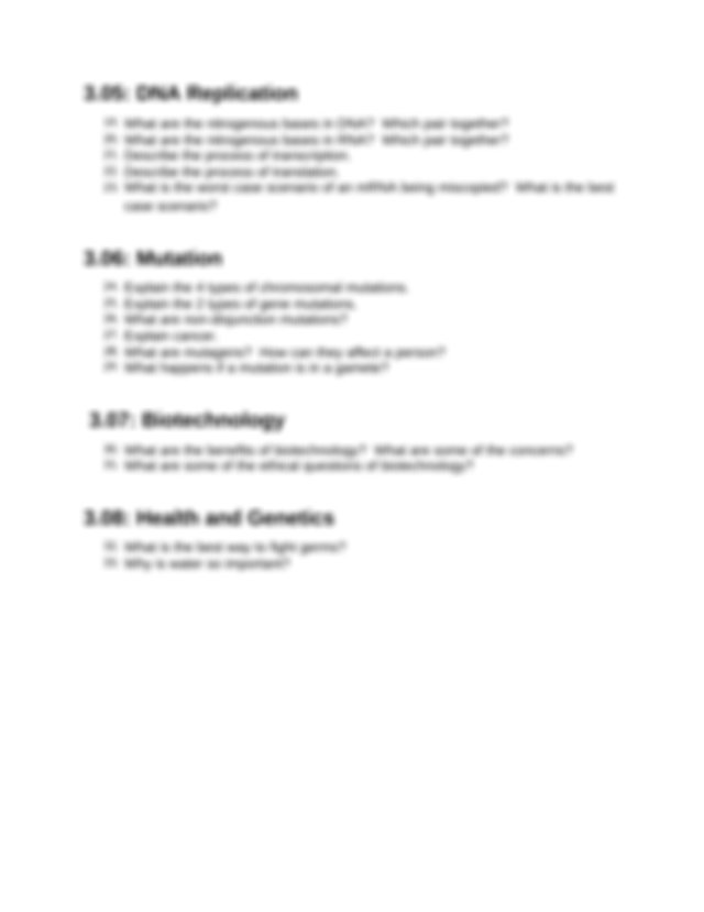 Module3ReviewSheet1.rtf - Module 3 Cell Replication Review ...