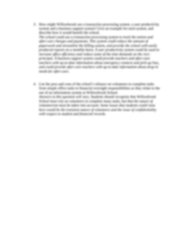 Willowbrook School Case Study 3 – Recent Adjudications