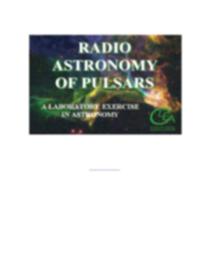 Posters U2013 Mu Astronomy Manual Guide