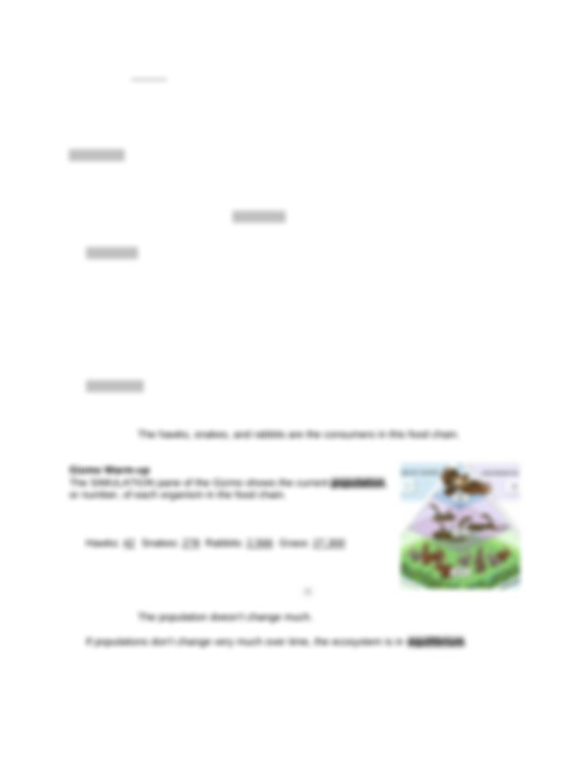 Food chain gizmos.docx - Name Date Student Exploration ...