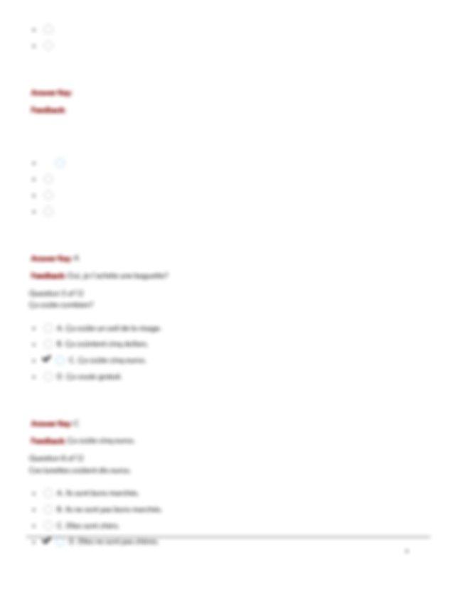 AMU FREN 100 WEEK 7 SKILLBUILDER.pdf - APUS CLE FREN100 ...