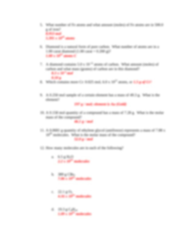 worksheet_7_A11_Answers - CH1010 CH1010 Exercises ...