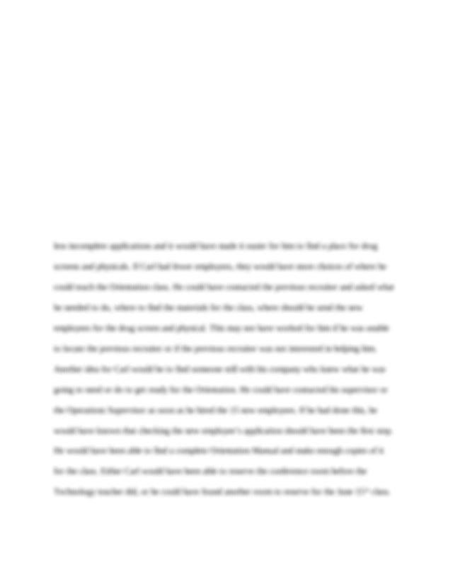 Case study analysis comm 215
