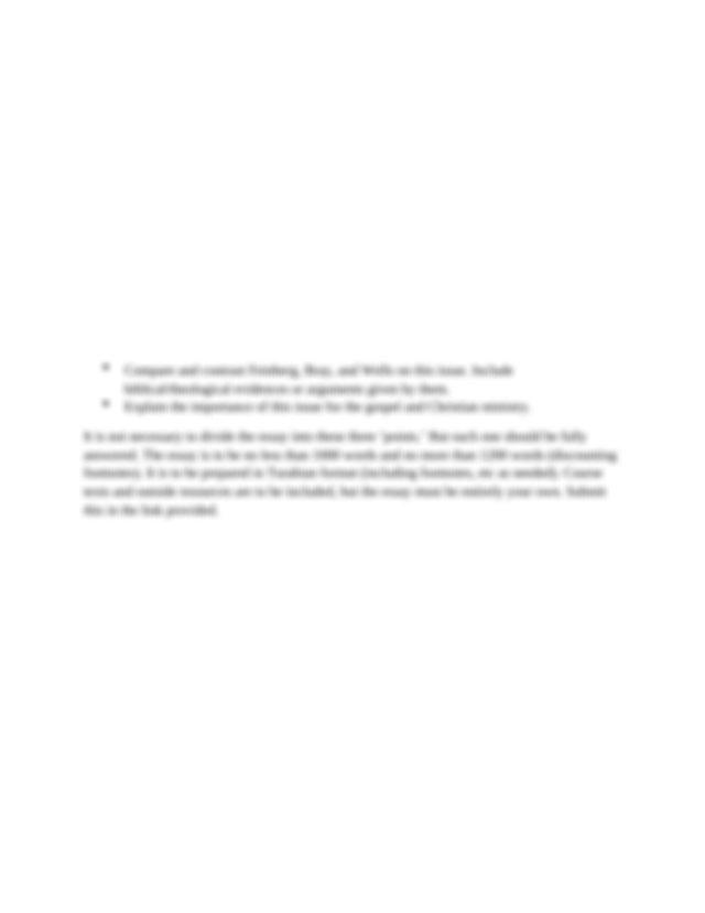 Essay writing unity faith discipline