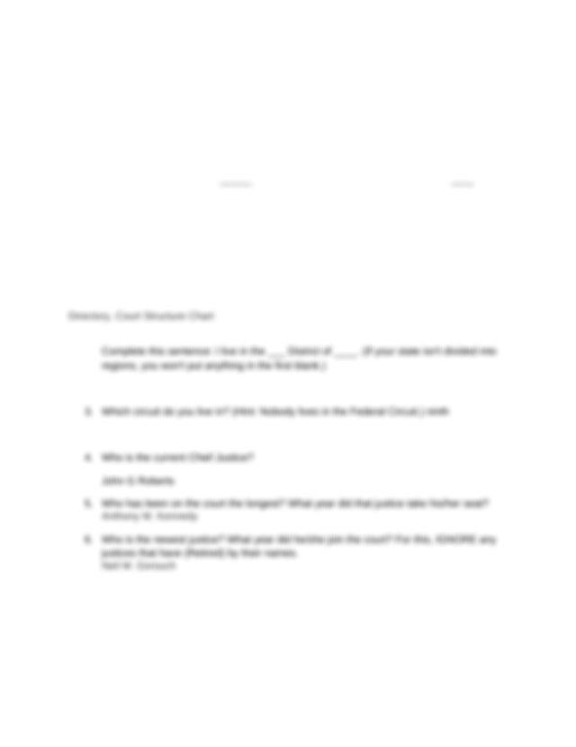 CourtsInANutshellWebquest.docx - The Courts in a Nutshell ...