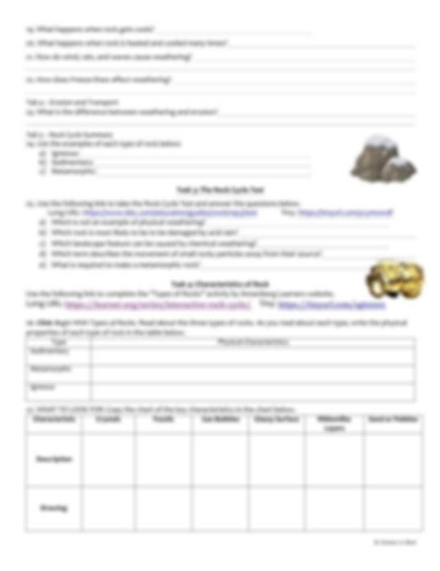 Rock_Cycle_Webquest_Student_Handout_.pdf - Name Per Rock ...