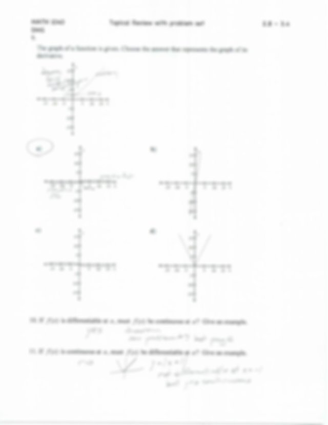 Test Three Topical Review Answer Key - MATH 1040 Topical ...