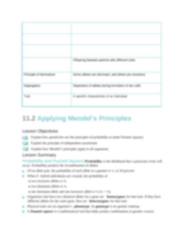 Chapter_11_Study_Guide (1) - Chapter 11 Study Guide 11.1 ...