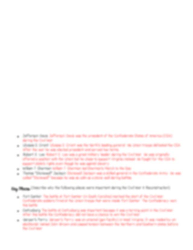 Study Guide Answer Key.pdf - Civil War Reconstruction ...