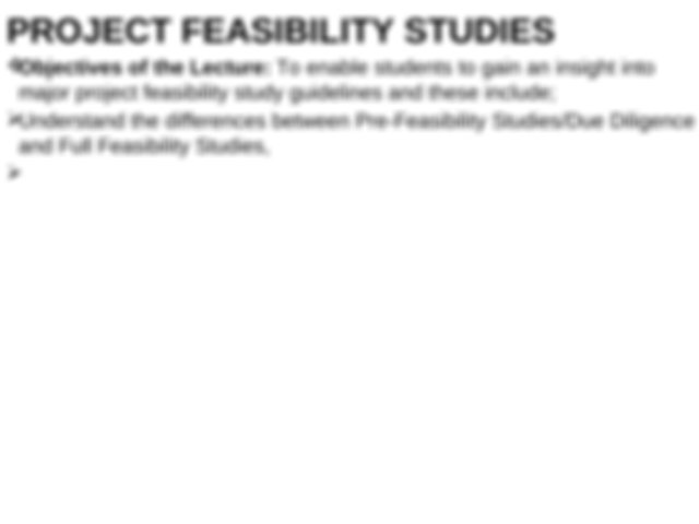 Distinguish between business plan feasibility study