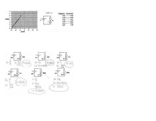 ohms_law_worksheetkey.pdf - Ohm\u2019s Law Practice ...