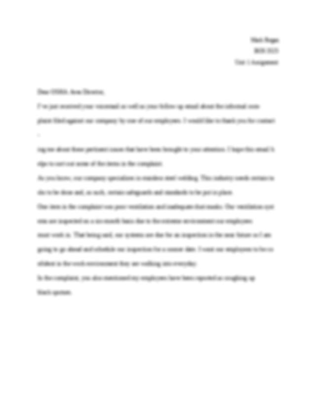 BOS 3525 Unit I Essays.docx - Unit I Essays Where does ...