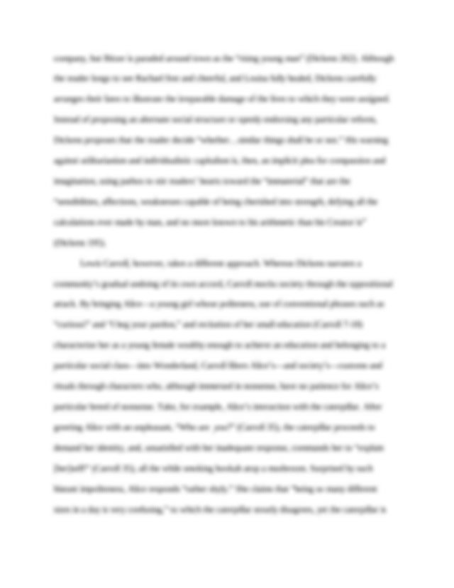 Parts of academic term paper