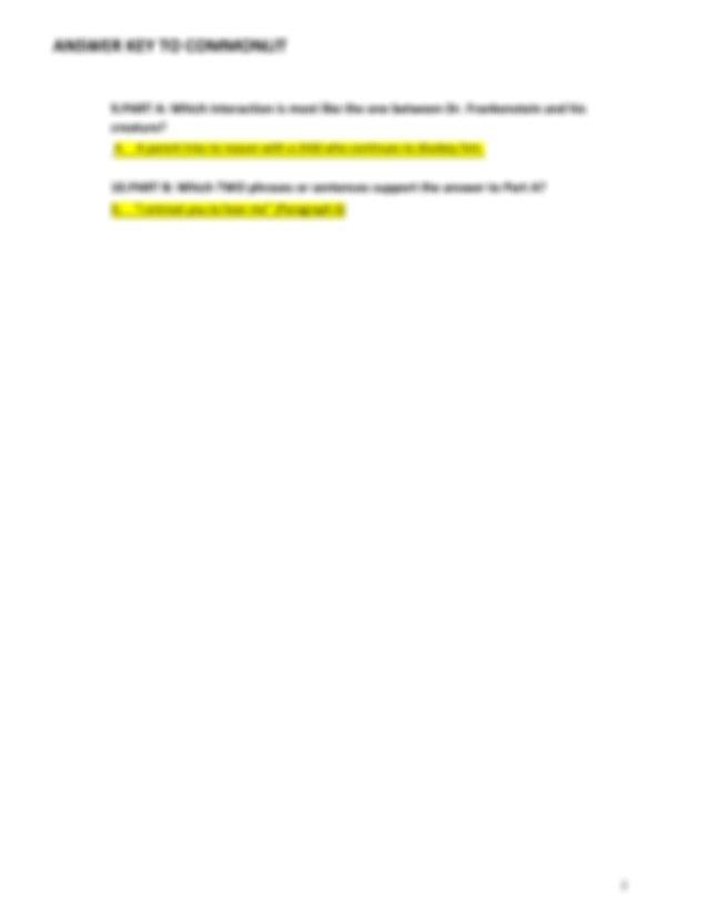ANSWER KEY frenkenstein comonlit multiple choice .pdf ...