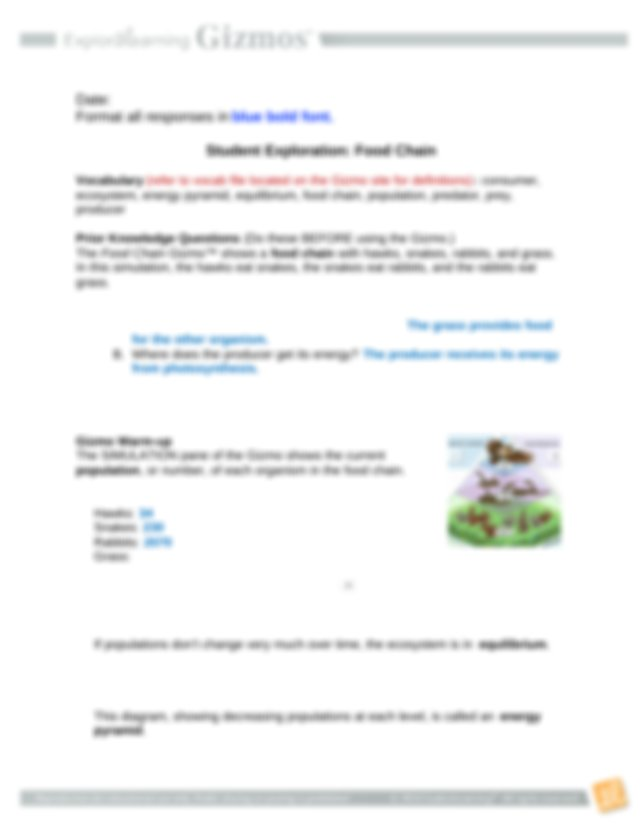 FoodChainSE.docx - Name Date Format all responses in blue ...