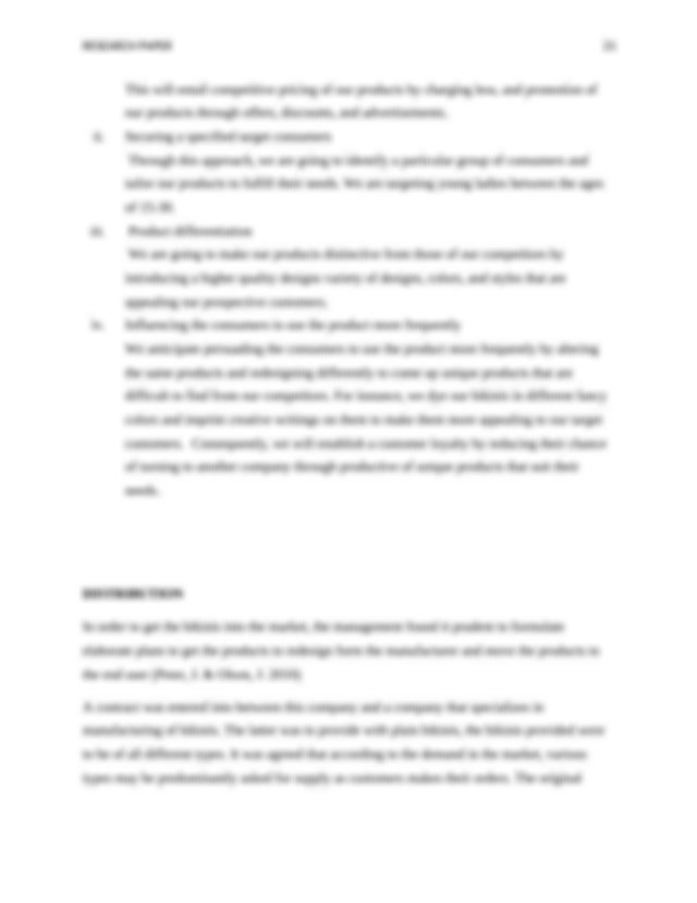 Causes effects essay