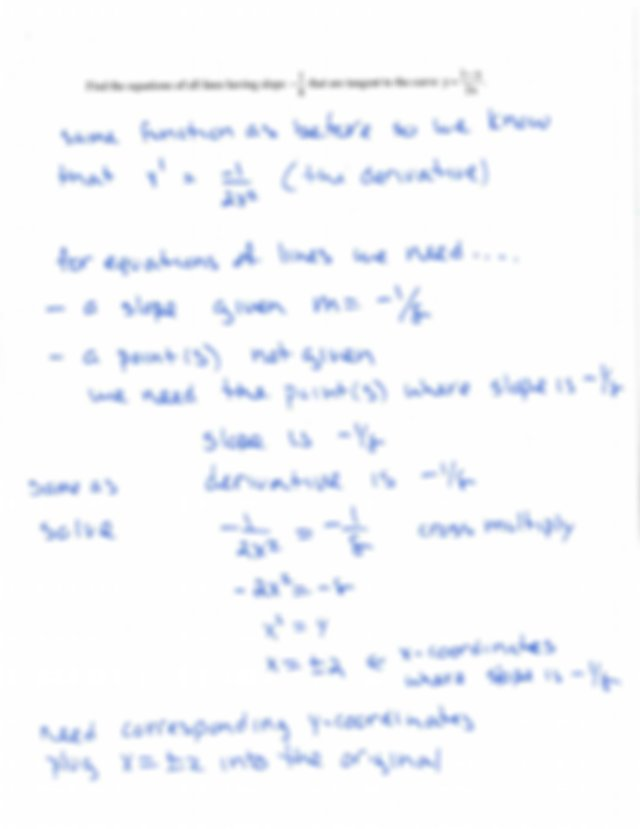 Section 3.2 - Math 1441 Calculus 1 Section 3.2 The ...