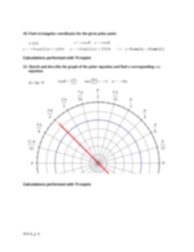 Solved: Find All Polar Coordinates Of Point P (9, 75°). (2