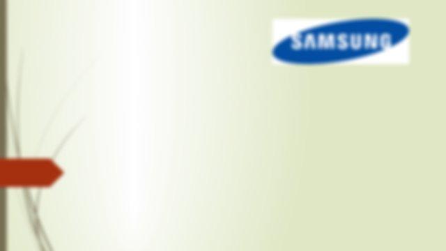 Samsung Global Branding Pptx