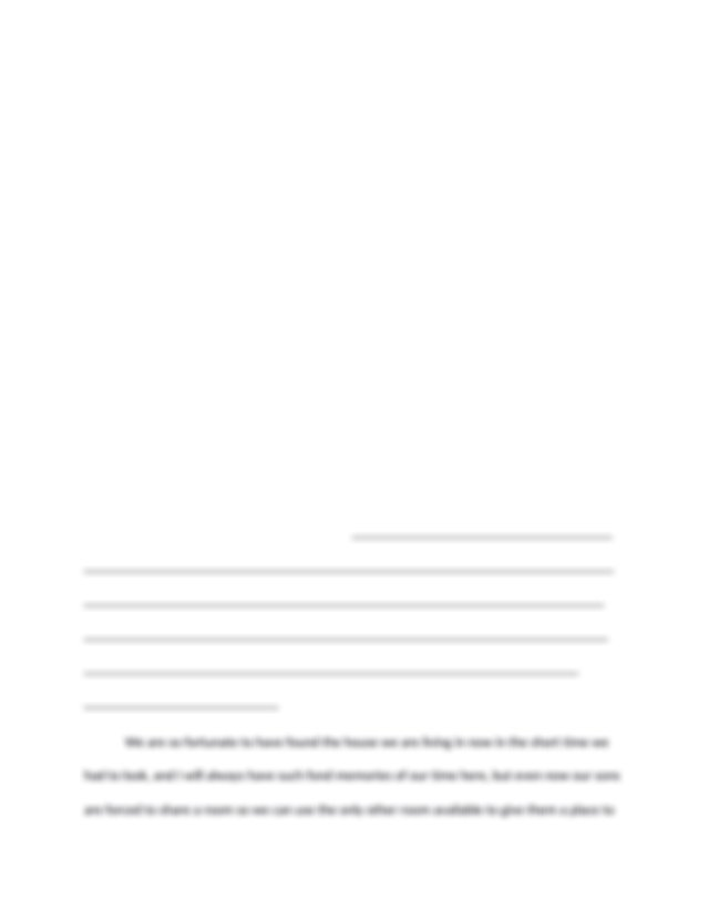 An essay with a introduction