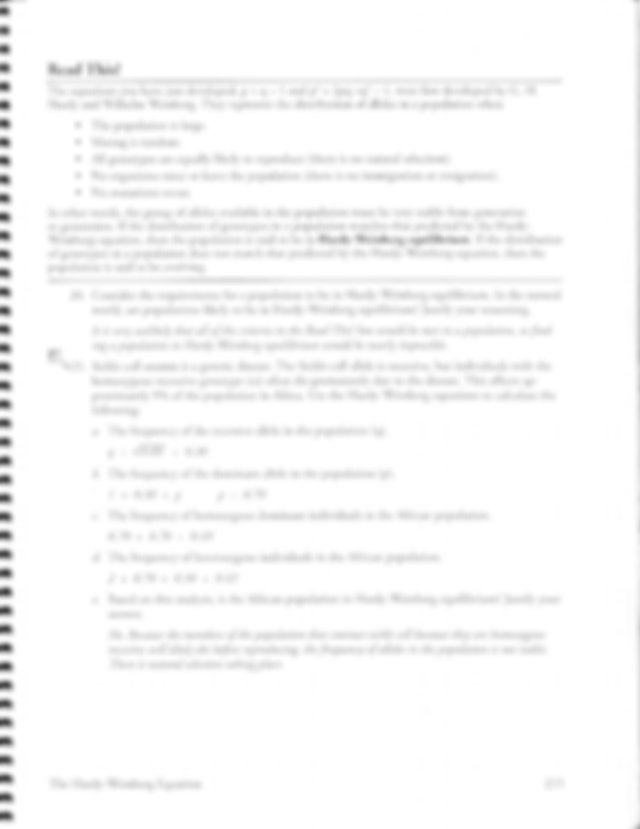10.3.U1 The Hardy-Weinberg Equation-S_POGIL_KEY.pdf - The ...