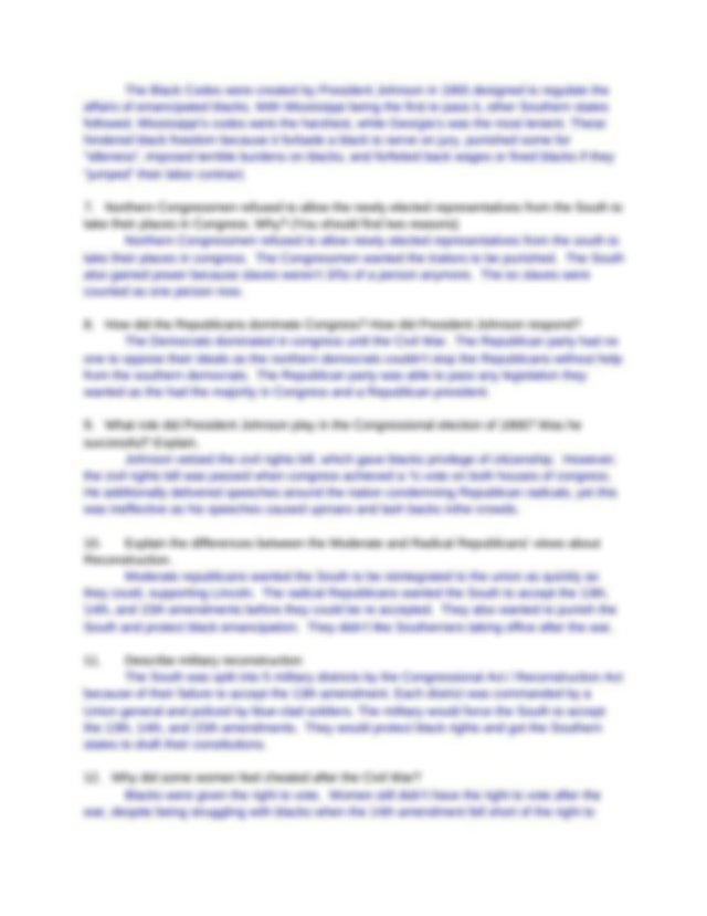 CH.22.docx - APUSH WORKSHEET CHAPTER 22 PAGEANT ANSWER THE ...